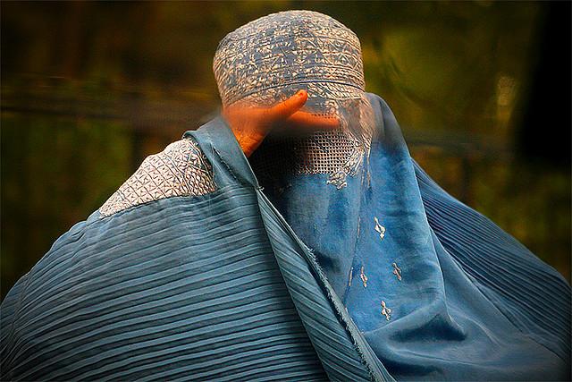 Afghan woman