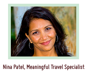 Nina Patel, Meaningful Travel Specialist
